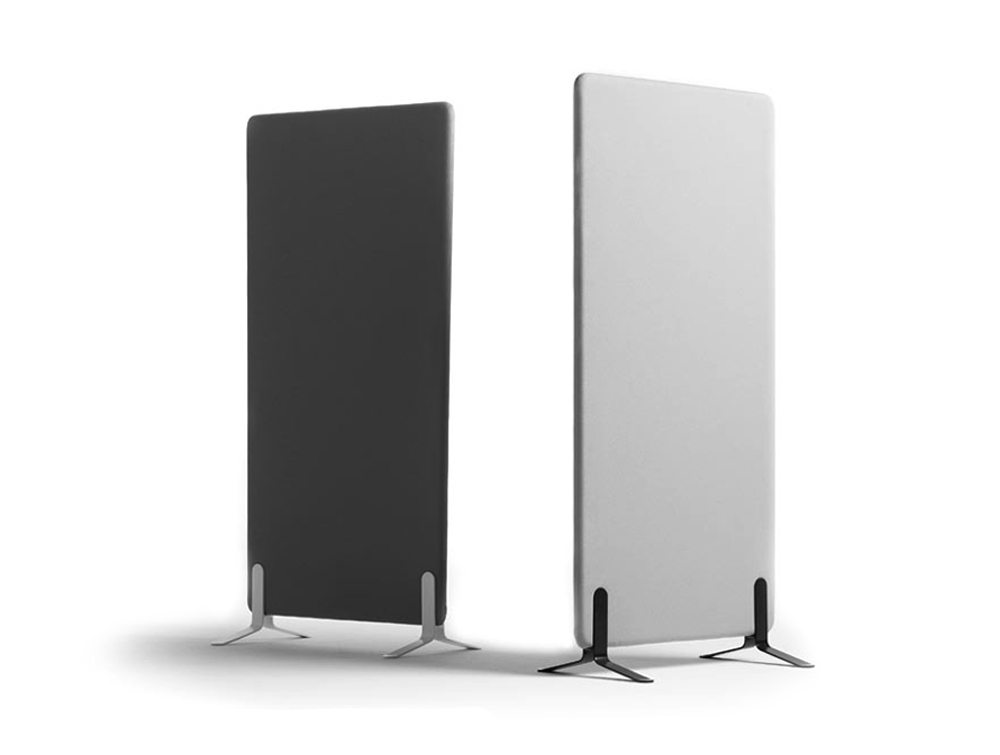 Duo Acoustic Screens Freestanding Desk Mounted