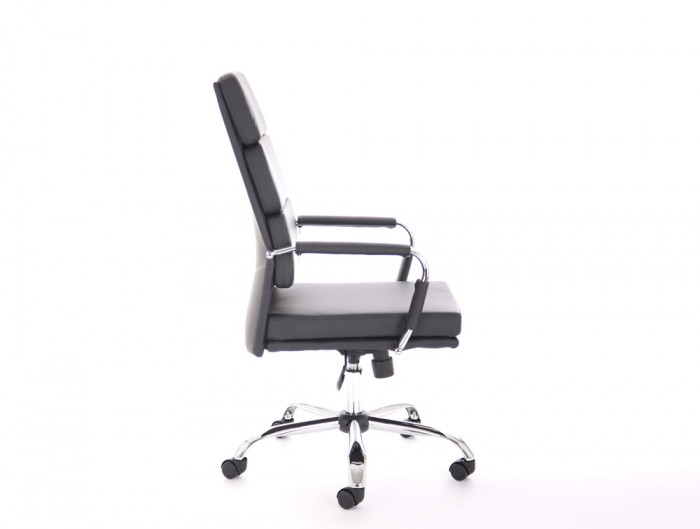 Dynamo-Advocate-Executive-Swivel-Chair-with-Arms-in-Black-Eco-Leather-Side