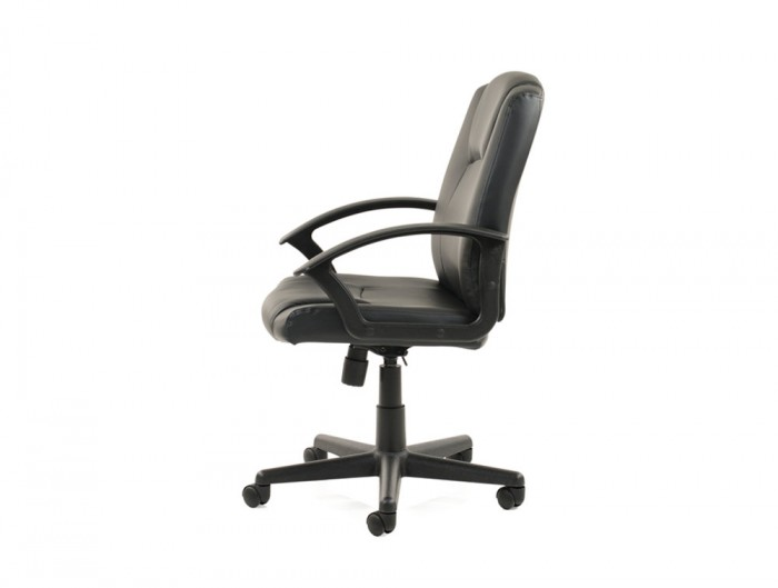 Dynamo-Bella-Executive-Manager-Chair-in-Black-Leather-Side