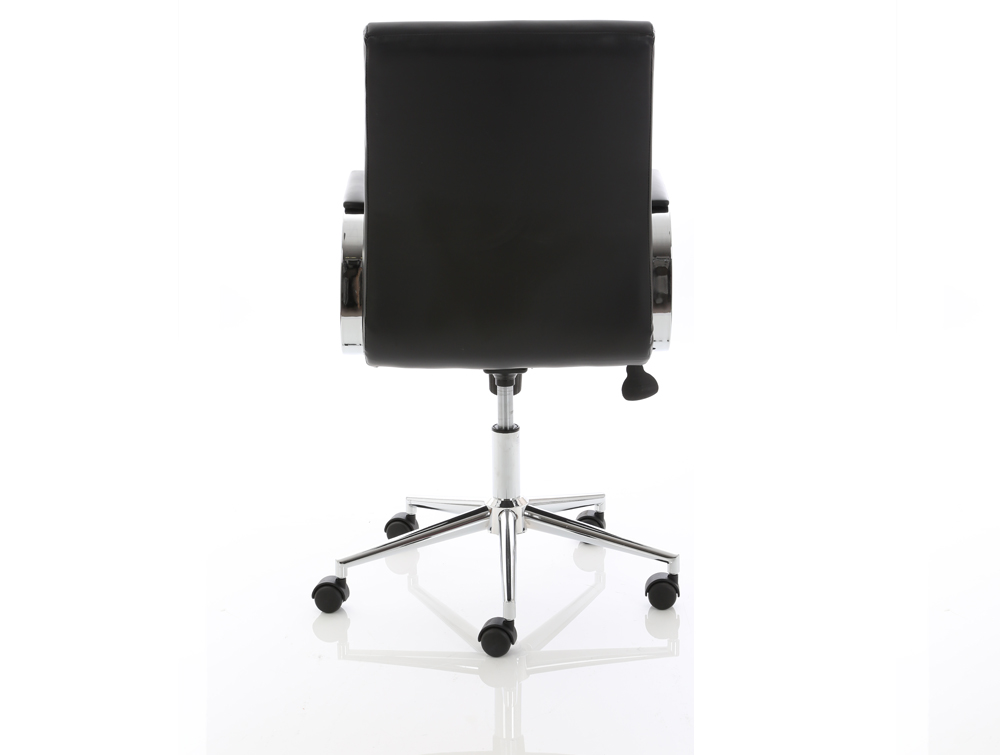 Dynamo Ezra Series Office Executive Chair Black Leather Back