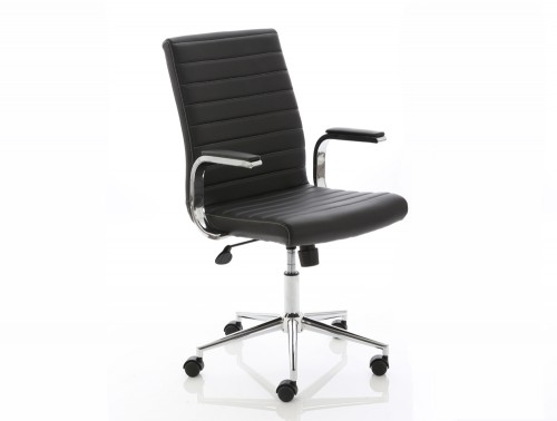 Dynamo Ezra Series Office Executive Chair Black Leather Feature