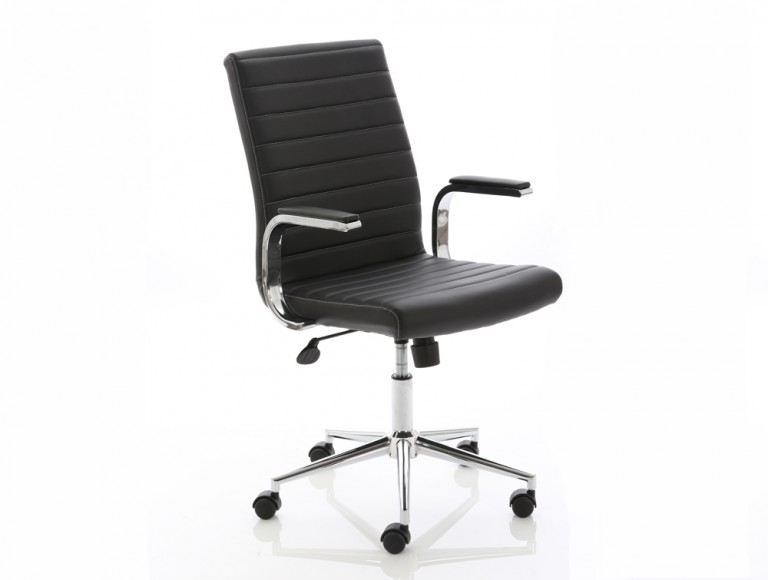 Dynamo Ezra Series Office Executive Chair Black Leather Feature