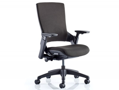 Dynamo Molet Task Executive Office Chair in Black Fabric Feature