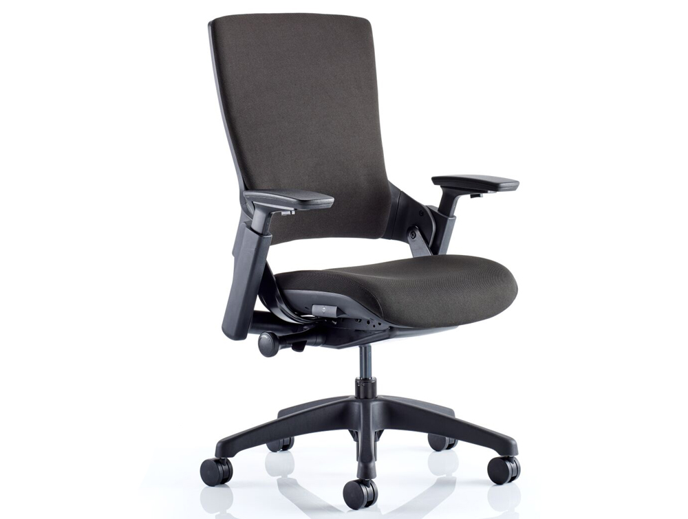 Dynamo Molet Task Executive Office Chair With Adjustable Arms And Headrest