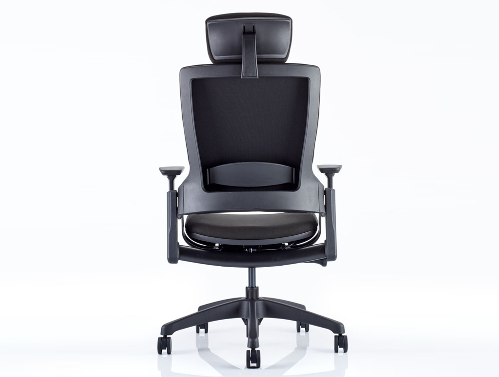 Dynamo Molet Task Executive Office Chair With Adjule Arms And Headrest