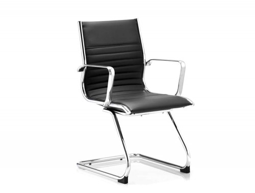 Dynamo-Ritz-Cantilever-Office-Chair-in-Black-Leather