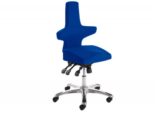 Dynamo-Saltire-Ergonomic-Posture-Chair-Blue