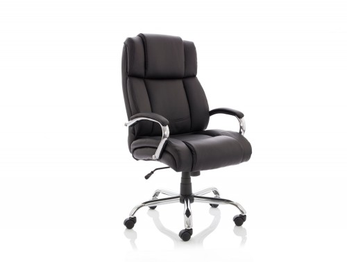 Dynamo Texas Black Executive Office Leather Chair Feature