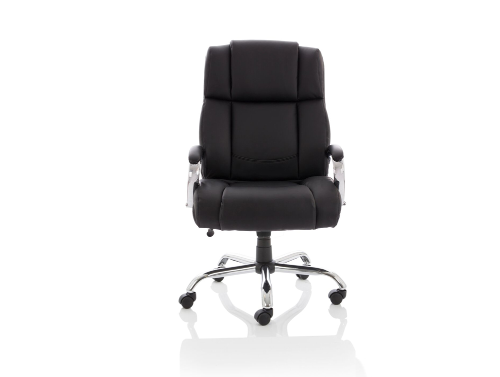 Pleasing Dynamo Texas Leather Heavy Duty Executive Black Office Chair Ncnpc Chair Design For Home Ncnpcorg