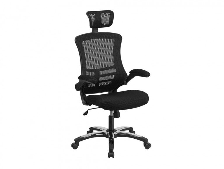 EXEC-OP Galaxy Mesh Chair with Headrest