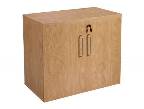 Elite 2 Level Cupboard 730mm high in Oak