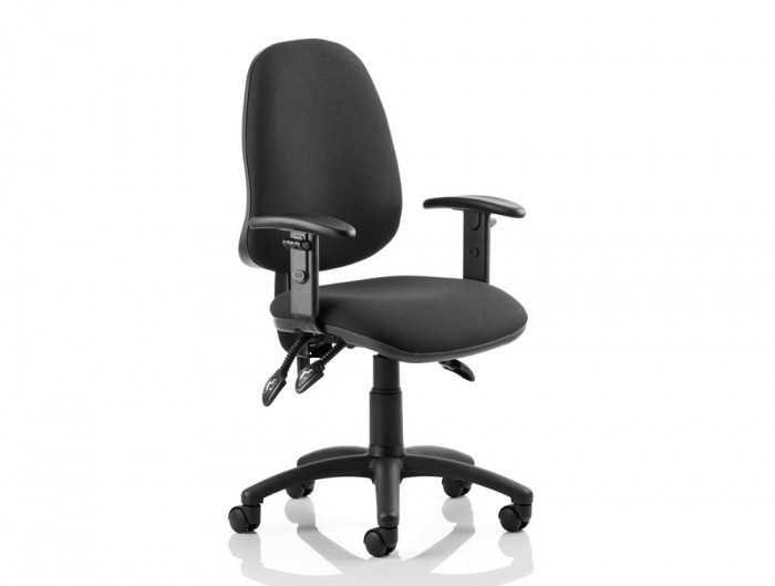 Eclipse-3-Lever-Task-Operator-Chair-Black-With-Height-Adjustable-Arms