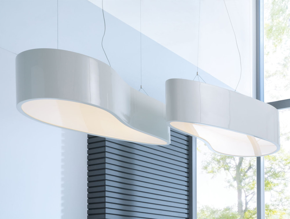 Ellipse Overhead Office Reception and Meeting Room Lighting Modern