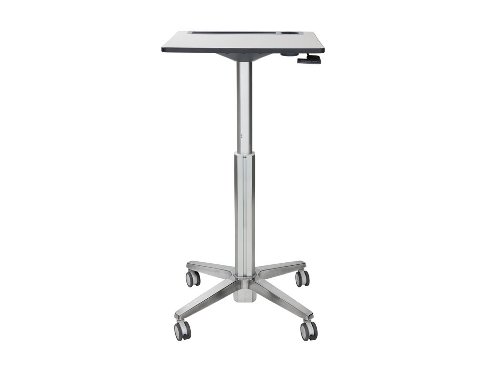 Ergotron LearnFit Adjustable Standing Desk Front Angle