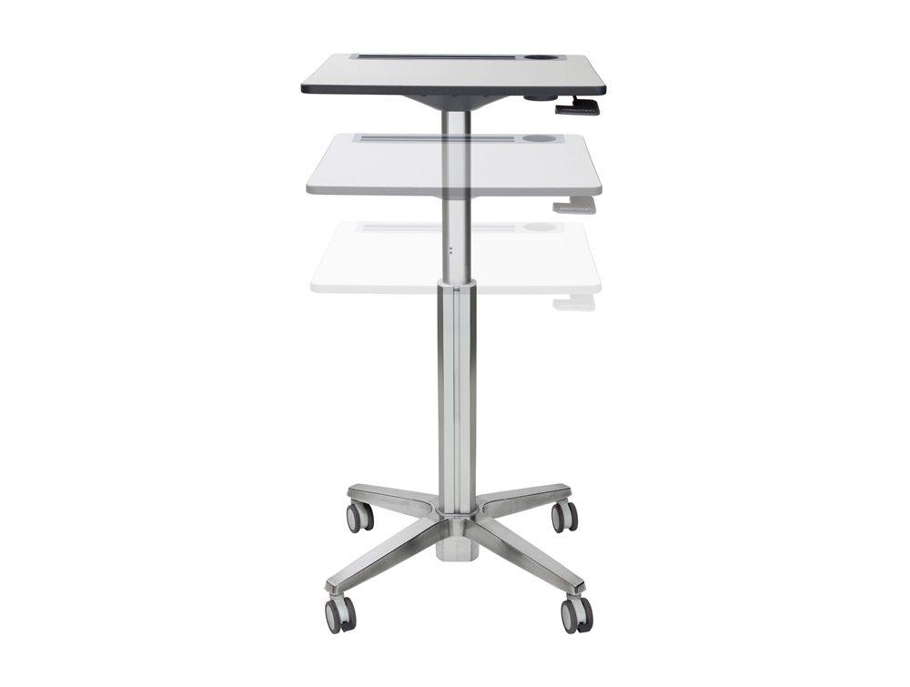 Ergotron LearnFit Adjustable Standing Desk Motion