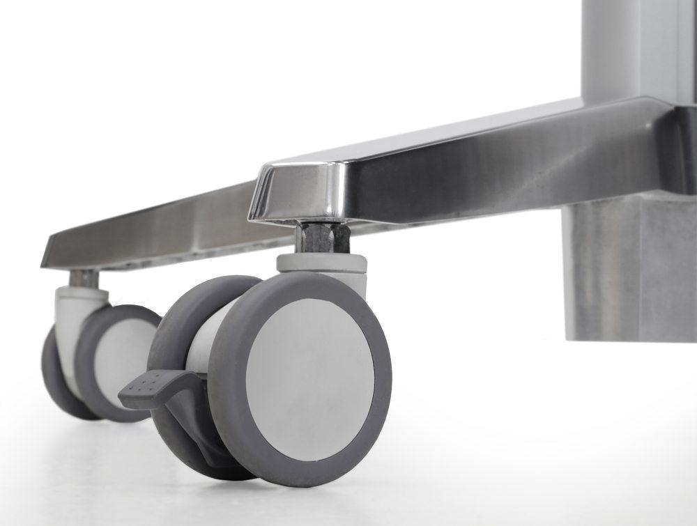 Ergotron LearnFit Adjustable Standing Desk casters