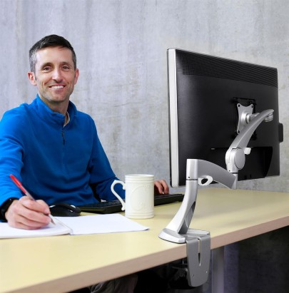 Ergotron Neo Flex LCD Arm office