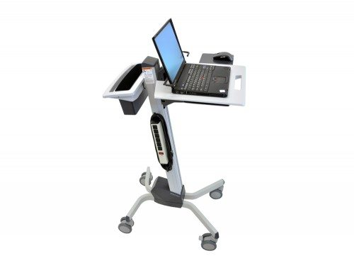 Ergotron Neo-Flex Laptop Cart power strip