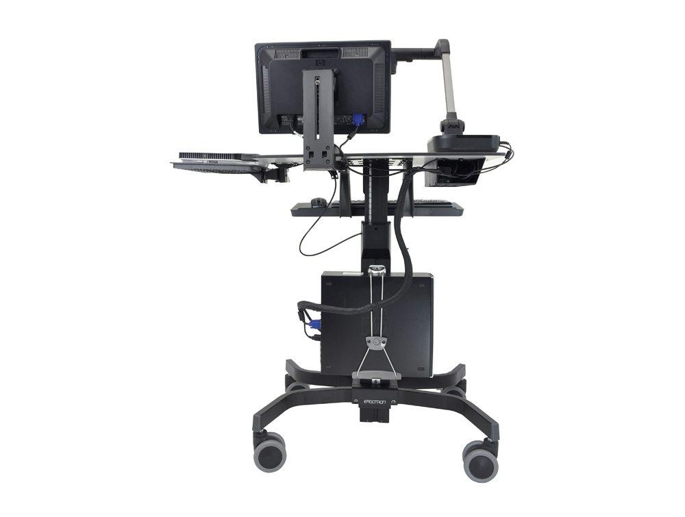 Ergotron TeachWell Mobile Digital Workspace Back Angle