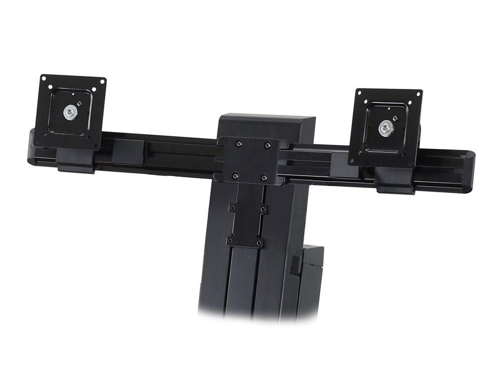 Ergotron WorkFit-SR Dual Monitor Sit Stand Workstation Details