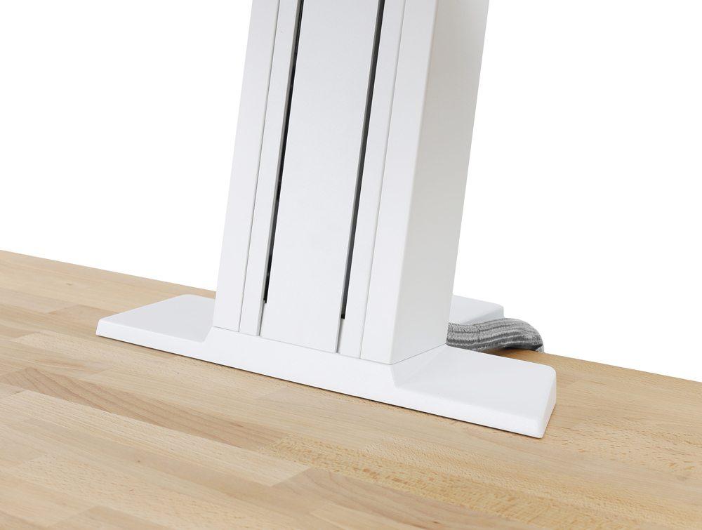 Ergotron WorkFit-SR Sit Stand Workstation columns