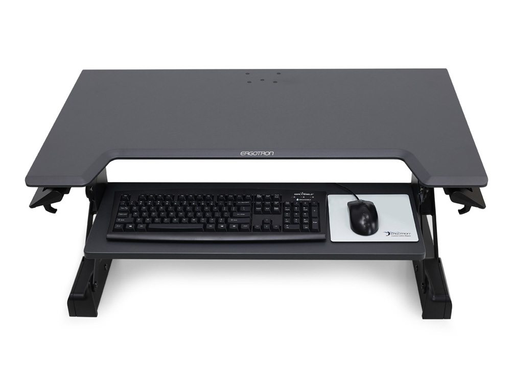 Ergotron Workfit Tl Sit Stand Desktop Workstation