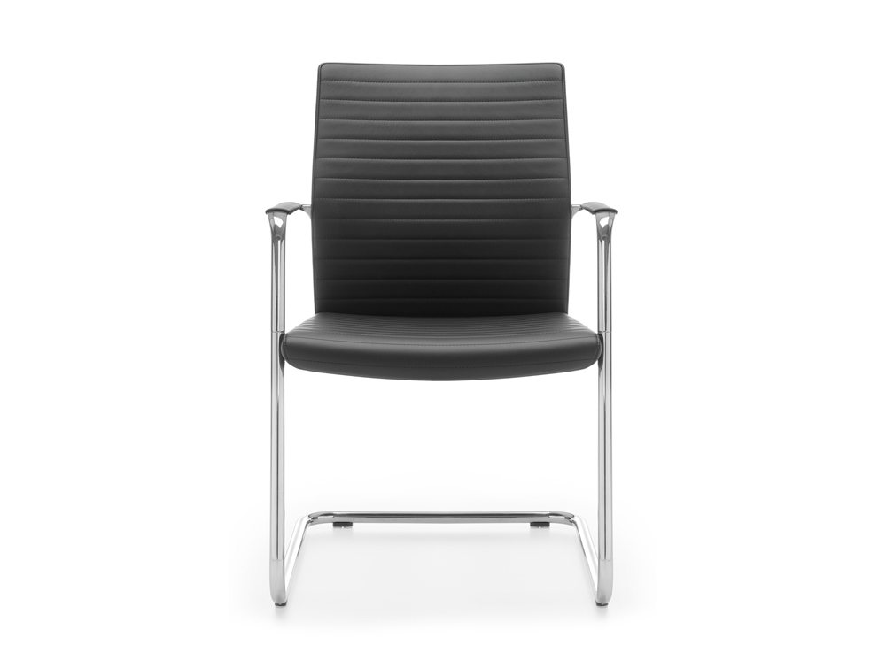 Executive Meeting Room Chair Second Version Front Angle
