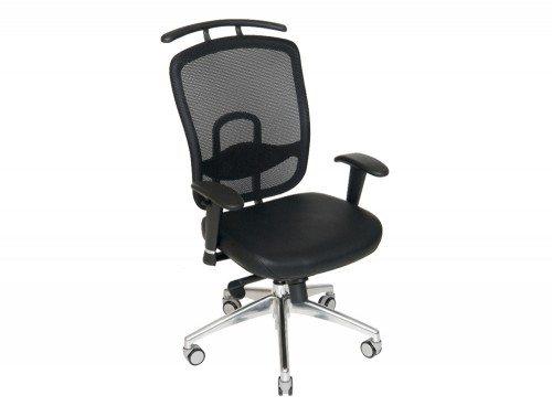 FX8415B Romo Mesh Chair with Coat Hanger