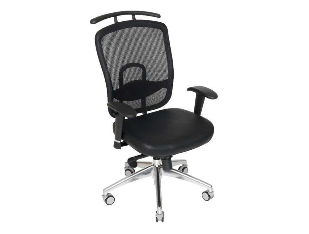 Romo Mesh Chair With Coat Hanger