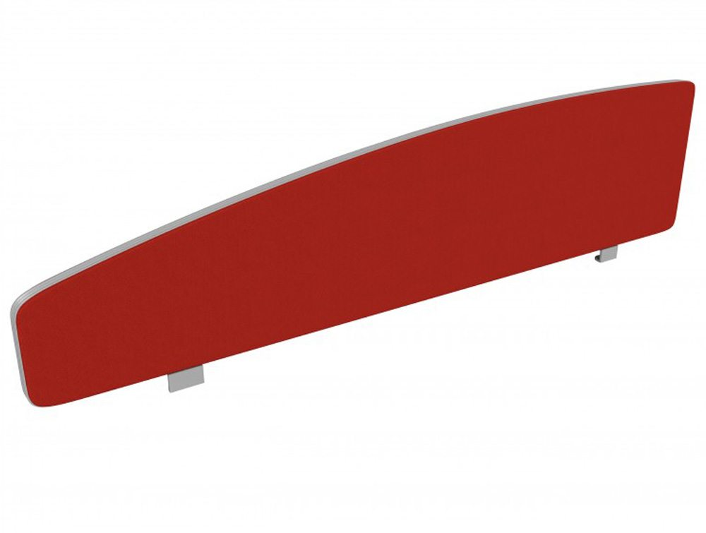 Flite Flite Desk Mounted Curve Top in Red