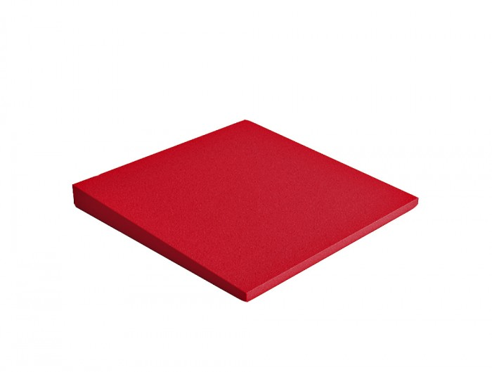 Fluffo Cube Acoustic Panel in Red