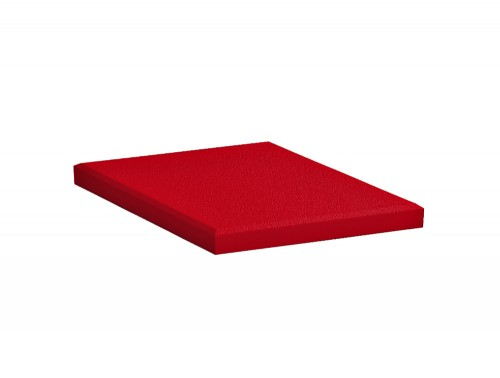 Fluffo Diamond Edge Acoustic Panel in Red