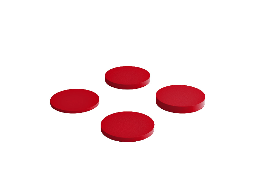 Fluffo Dot Acoustic Panel in Red