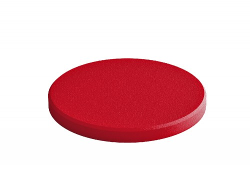 Fluffo Dot Edge Acoustic Panel in Red