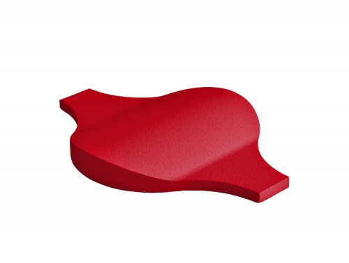 Fluffo Flow Acoustic Panel in Red