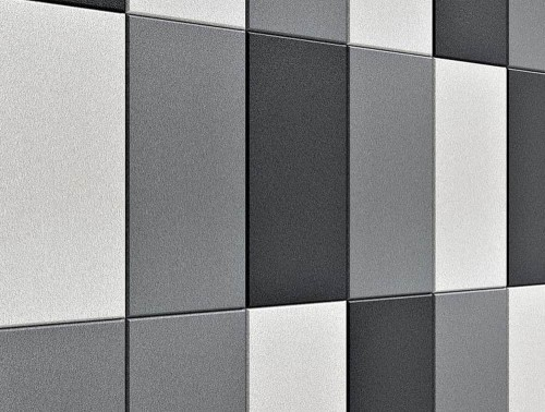 Fluffo Line Edge Soft Wall Panels Acoustic Grey