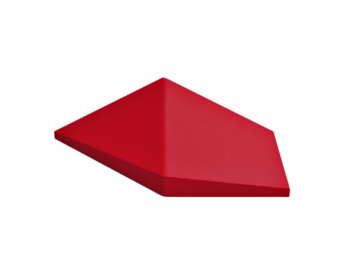 Fluffo Link Acoustic Panel in Red