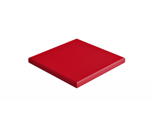 Fluffo Pixel Edge Acoustic Panel in Red