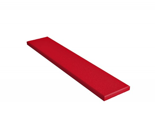 Fluffo Stick Edge Acoustic Panels in Red