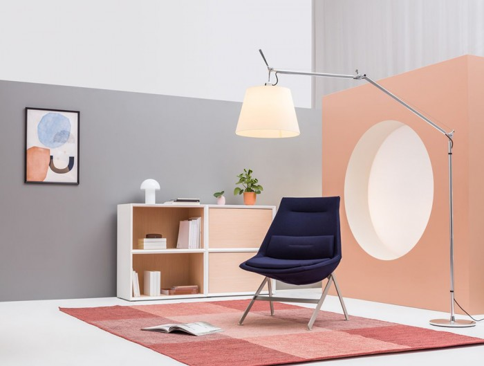 Frank-Comfy-Lounge-Armchair-with-Four-Legged-Base-in-Reading-Area