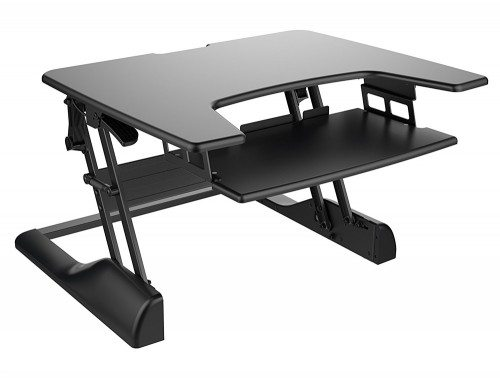 Freedom Desk Height Adjustable Work surface Black 30