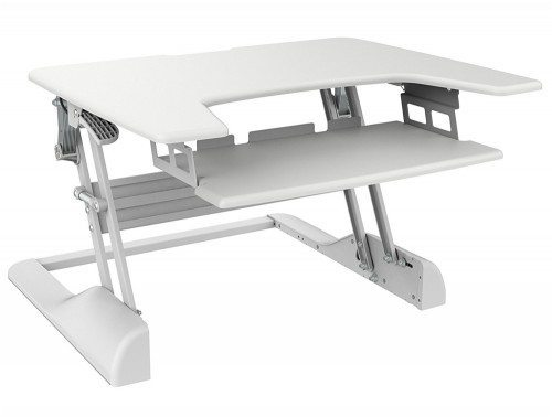 Freedom Desk Height Adjustable Work surface White 30