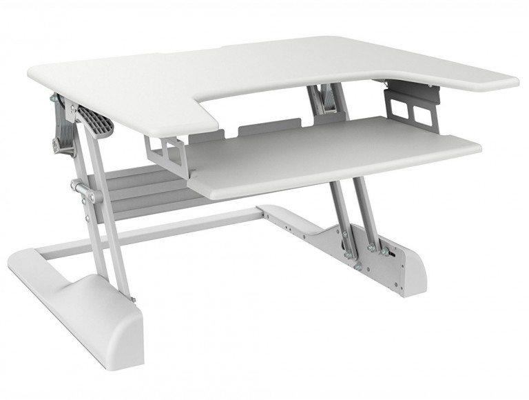 Freedom Desk Height Adjustable Work surface White 30