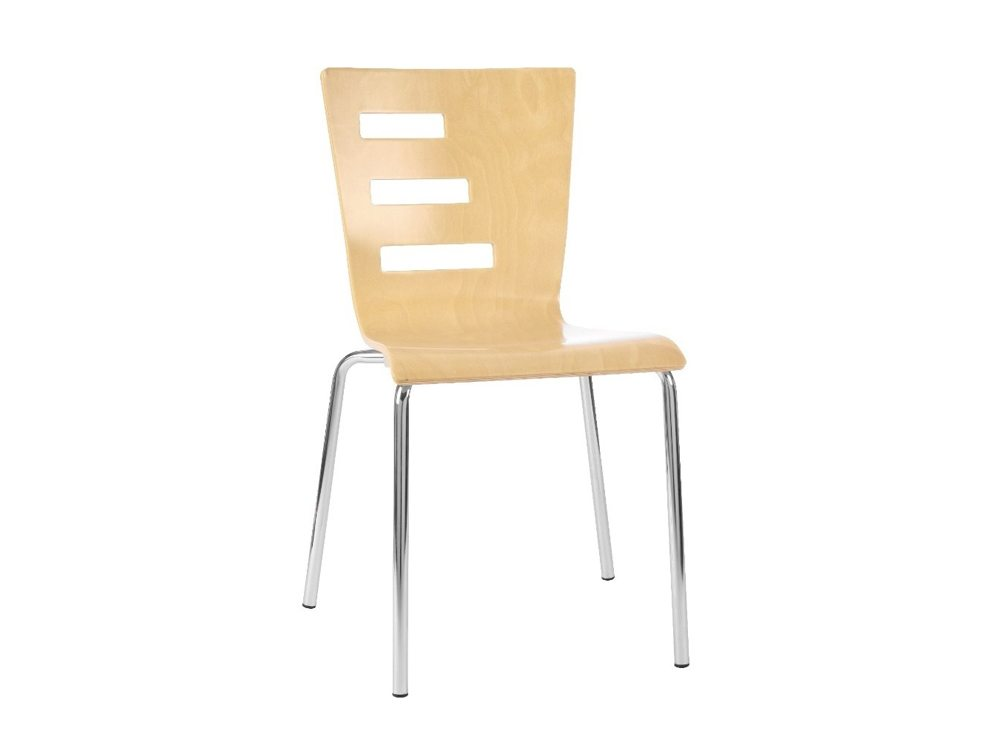 G30B Groovy Stackable Chair in Beech