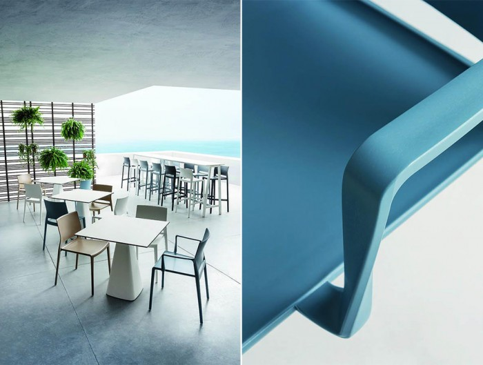 Gaber-Bakhita-Stackable-Canteen-Chair-in-Rooftop-Cafe-Area
