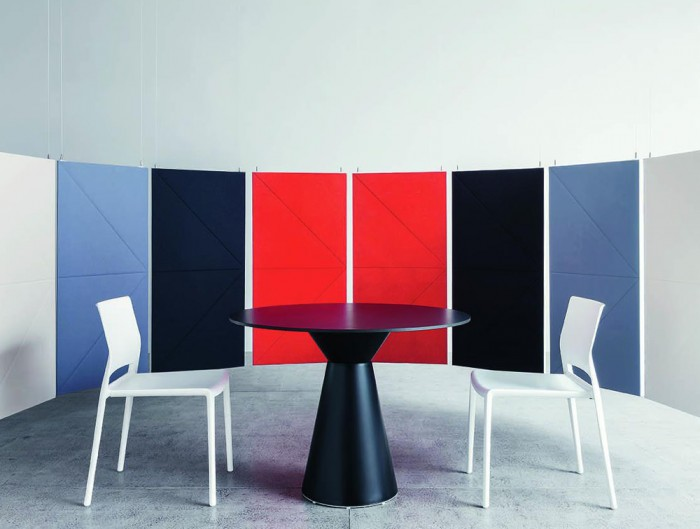 Gaber-Bakhita-Stackable-Canteen-Chair-in-White-with-Acoustic-Panels