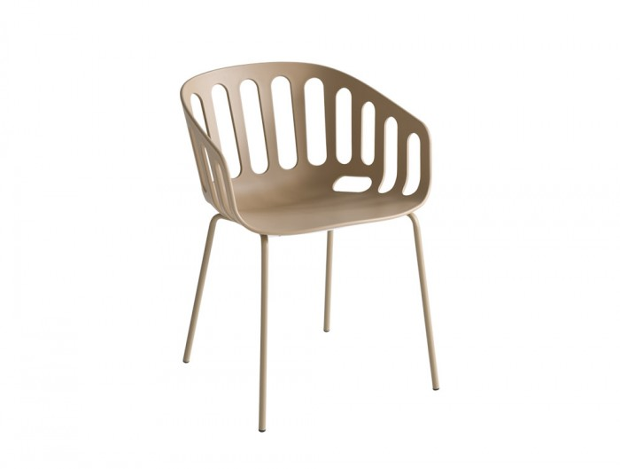 Gaber-Basket-Stackable-Canteen-Chair-with-Metal-Legs-in-Light-Brown