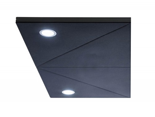Gaber Diamante Acoustic Hanging Panel with Spotlights