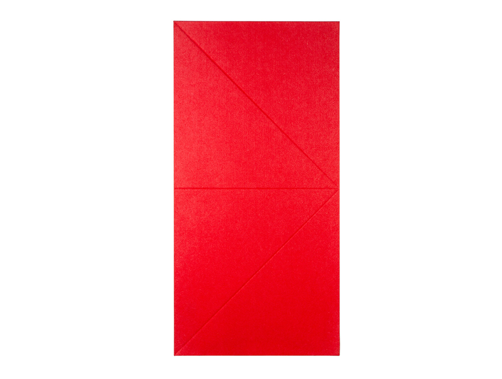 Gaber Diamante Acoustic Wall Panel in Cherry Red