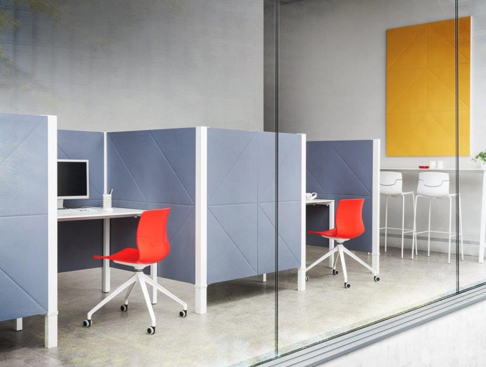 Gaber Diamante Acoustic Wall Panel in Office Interiors